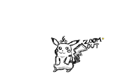 Pikachu - Scribble Art