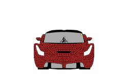 Ferrari Laferrari (Colored)