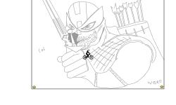 Fat And Weird Hawkeye