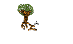 i worked hard to create t tree