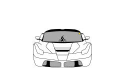 Ferrari Laferrari. DESC.