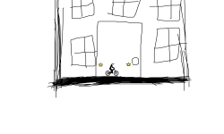 A drawn house