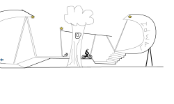 3D Nature Skate Park (short)