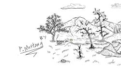 Few Trees and Hills