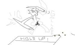 Gallade ( hold up)