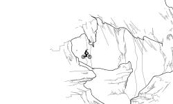 volcanic climb