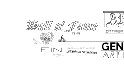Wall of fame 15-16 by Noob