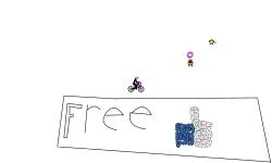 Draw a Free Rider Track