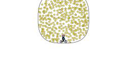 The circle of 360 stars