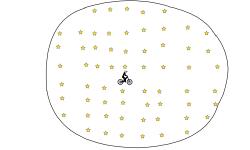 62 STARS IN A CIRCLE