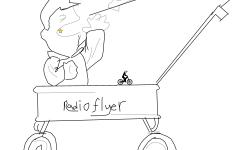 Radio flyer level