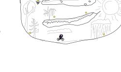 blob in a cave