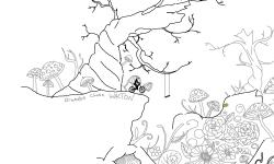 Crane in Wonderland