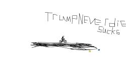 TrumpNeverDies sucks