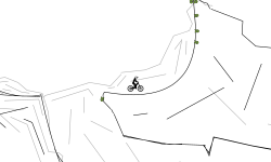 rocks track