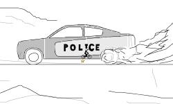 Police Car - Zoom Out (Desc.)