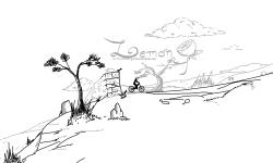 Mountain descent (teaser)