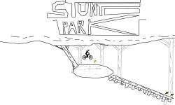 STUNT PARK BMX OP