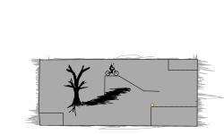 gray outcrops
