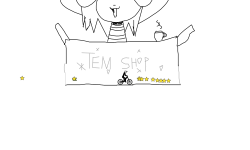 HOI!! YAYA! GO TO TEM SHOP!!!!