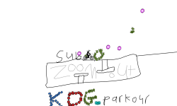 A logo for KDG_parkour