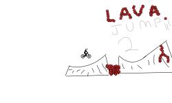 Lava run 2☠️💀
