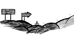 Uphill contest