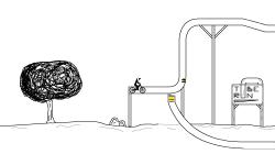 Tube run