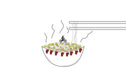 Spicy Chicken Ramen 🍜