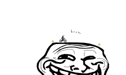 face of troll