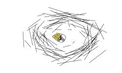scribble eye