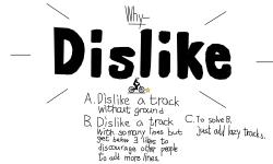 Dislike is an exam