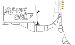 Half Pipe Hell