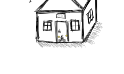 A Drawing: House
